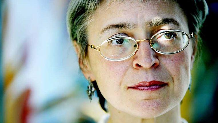 Anna Politkovskaja. Beeld