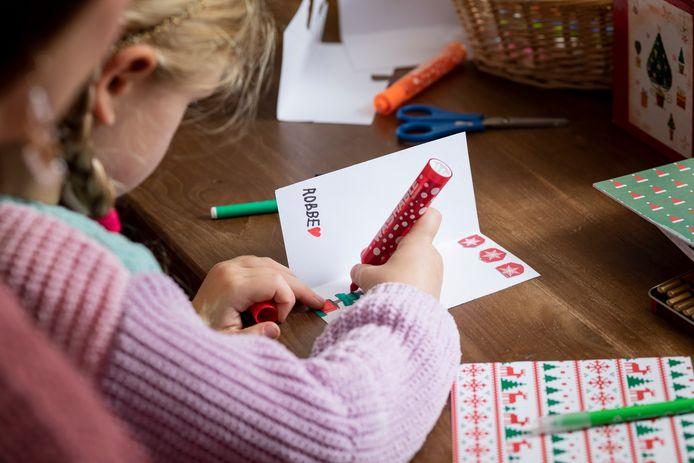 Stuur dit jaar een kerstkaartje naar de bewoners van 't Venster.