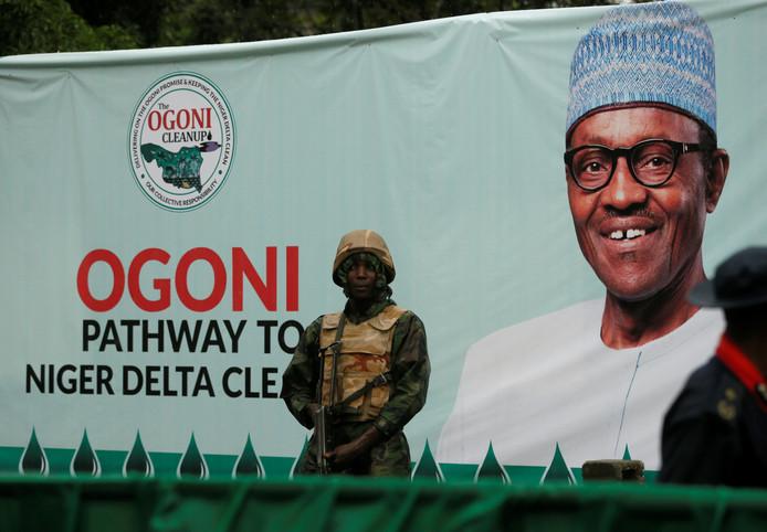 Ogoni-land is flink vervuild door de oliewinning