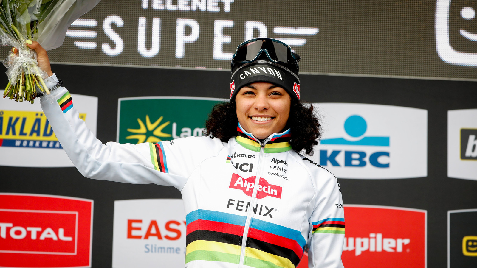 Krijgt wereldkampioene Ceylin Alvarado een plekje in jouw Gouden Cross-ploeg?