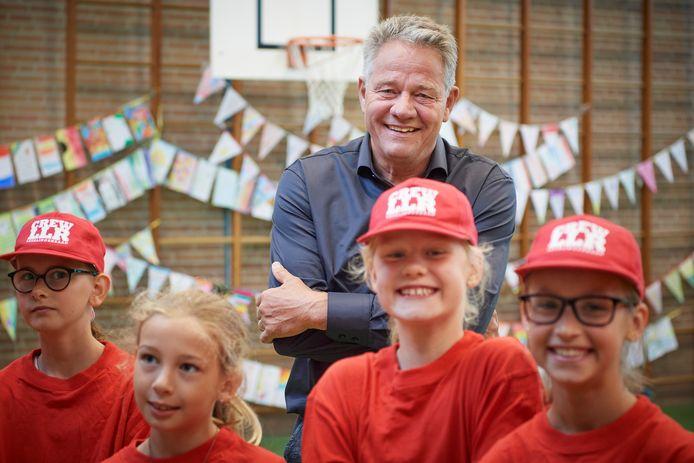 Afscheid van Huub Hamers directeur van de Nicolaasschool.