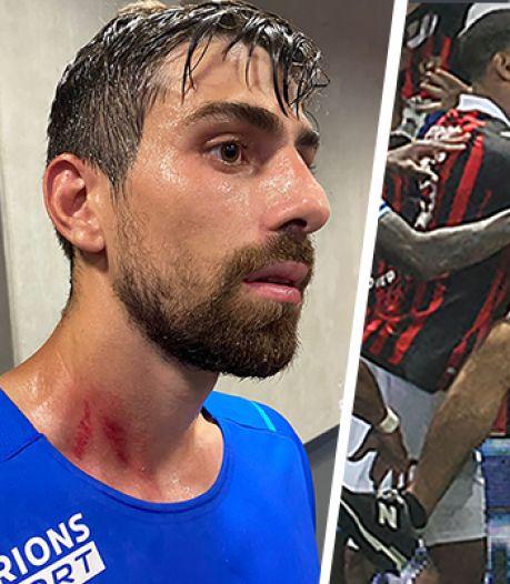 """Envahissement de terrain, match arrêté, joueurs blessés: Nice-Marseille, le match de """"la honte"""""""