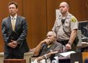 Little tijdens een zitting in 2013. De seriemoordenaar kwam tientallen keren in aanraking met justitie.