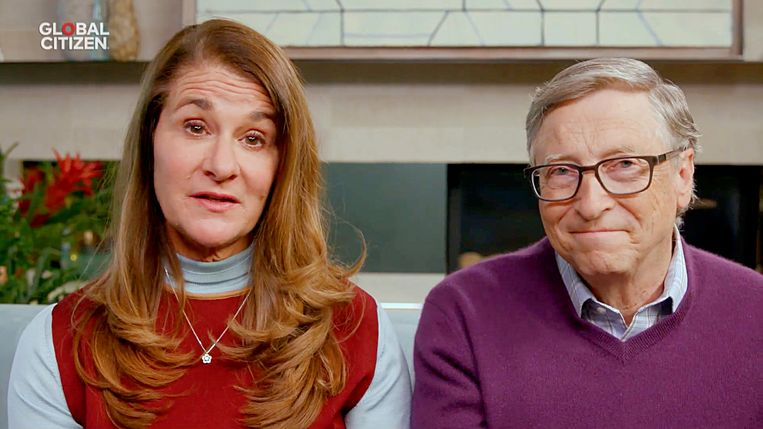 Melinda en Bill Gates.  Beeld VIA REUTERS