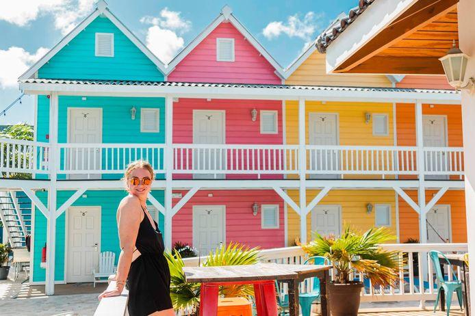 Pien Mager loopt stage op coronabrandhaard Curaçao