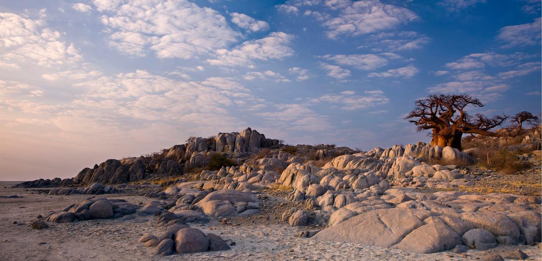 De geboortegrond van de moderne mens is nu een reeks droge zoutvlaktes.