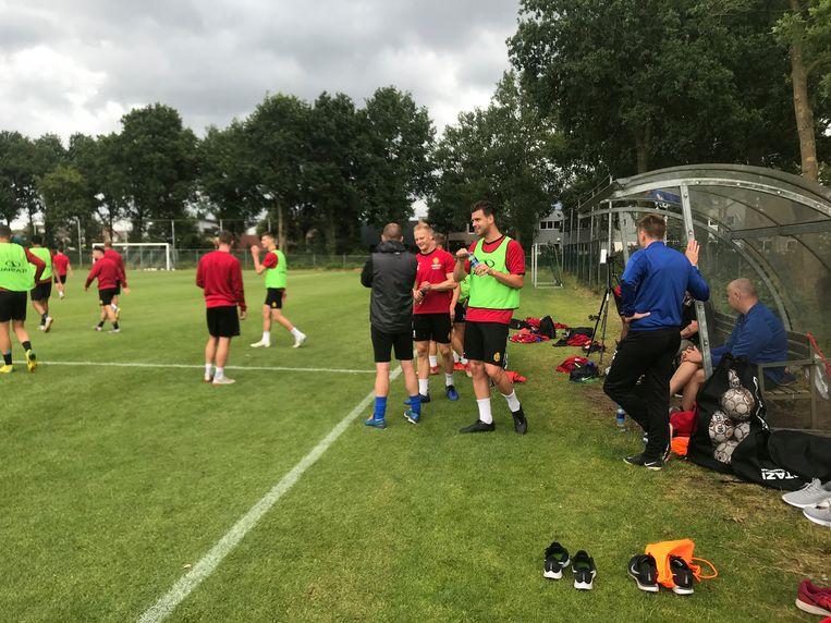 KV Mechelen is aangekomen op stage.