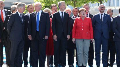 """Trump zet NAVO onder druk over defensiebudget: """"VS is niet grootste spaarvarken ter wereld"""""""