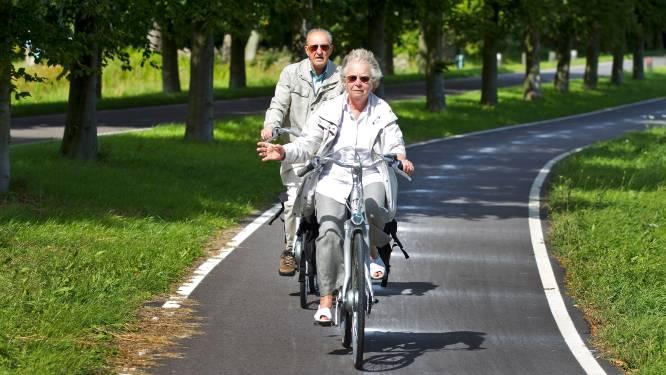 Kwart 55-plussers fietst met te veel drank op