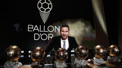 Lionel Messi wint voor zesde keer Gouden Bal, Eden Hazard eerste Belg