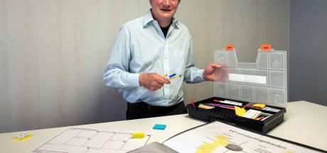 Gerrit (51) lost problemen op met zijn potlodenkistje: 'Ik noem mezelf verhelderaar'