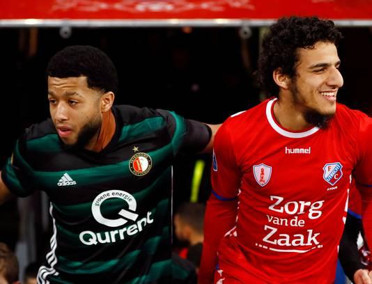 Tonny Vilhena en Yassin Ayoub zijn komend seizoen ploeggenoten, als Vilhena niet vertrekt.