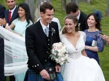 Andy Murray heeft zijn trouwring en schoenen terug: 'Ze stinken nog steeds enorm'