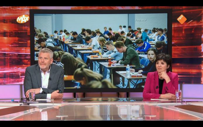 Sybrand Niessen en Martine van Os in Tijd voor MAX