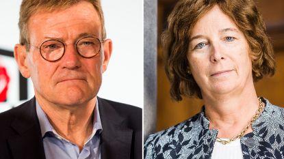 De Sutter en Van Overtveldt commissievoorzitters in Europees Parlement, uiterst rechts vist achter net