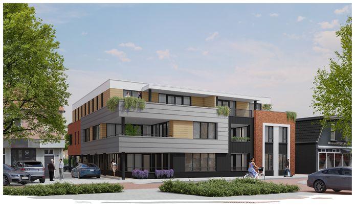 Het nieuwe appartementencomplex aan de Rijssensestraat wordt De Markenrigter genoemd, een naam die in overleg met de Historische Kring Hellendoorn-Nijverdal is gekozen