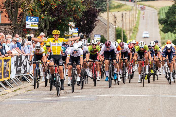 Thibau Nys wint ook de tweede rit in de Ronde van Vlaams-Brabant.