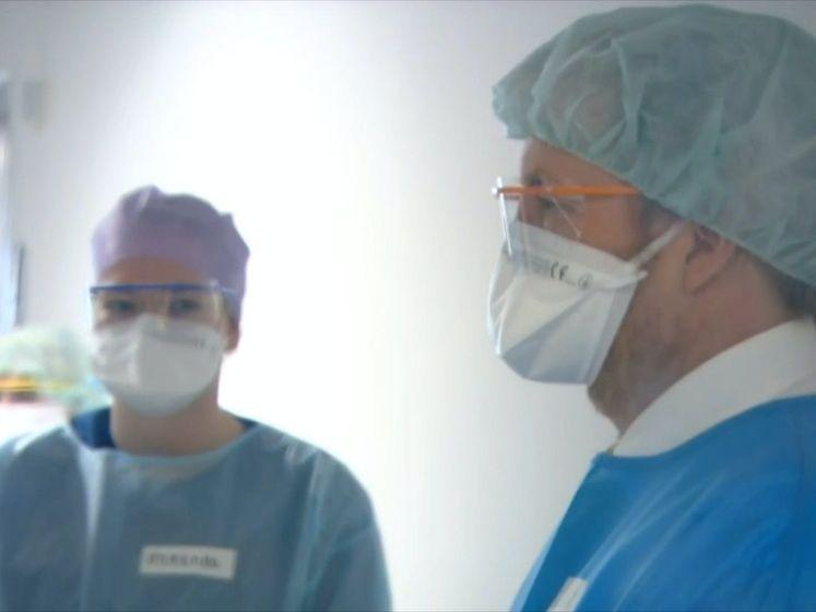 Koning Willem-Alexander bezoekt ziekenhuis en corona-afdeling