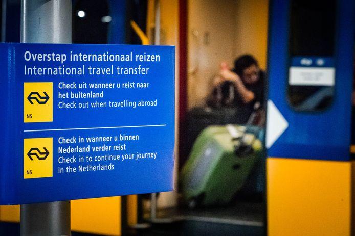 De conducteurs op de internationale trein naar Brussel staken woensdag