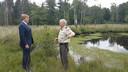 Koning Willem-Alexander wordt ontvangen in Apeldoorn, voor de opening van het nieuwe paviljoen van park De Hoge Veluwe.