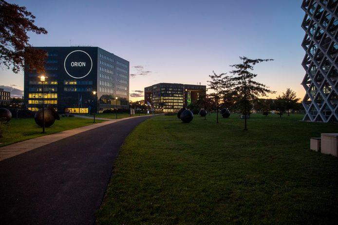 De campus van Wageningen Universiteit.