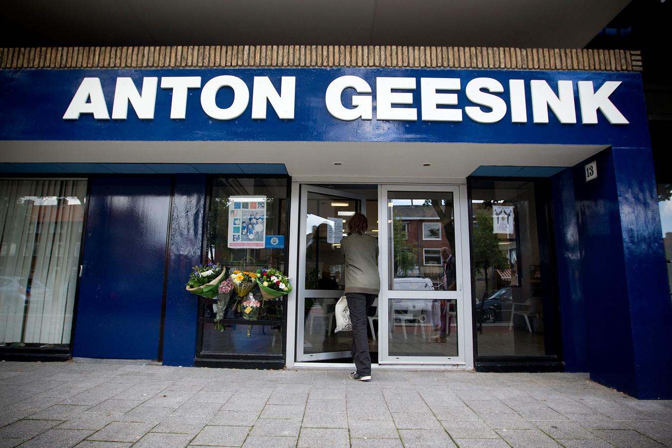 De sportschool van Geesink wordt omgebouwd tot appartementen.