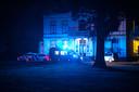 Hulpdiensten snelden zich zaterdagavond naar De Grote Bunte in Nunspeet, waar de gewonden zich ophielden.