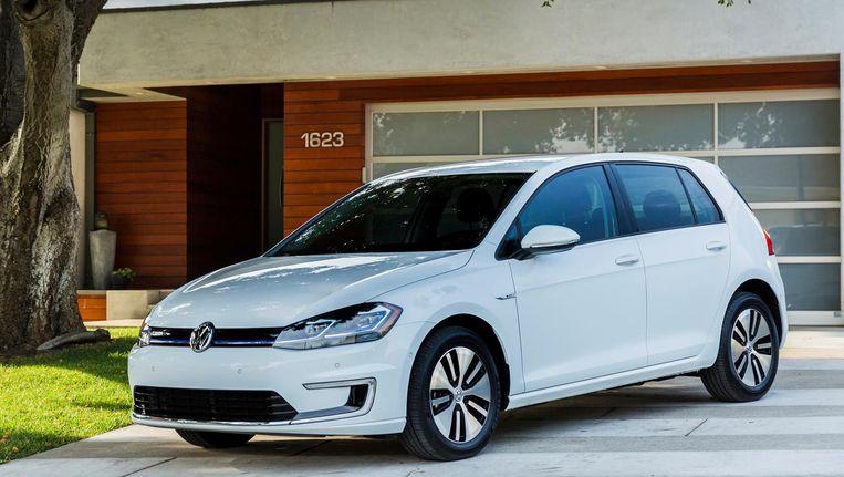 De Volkswagen e-Golf. Beeld AP