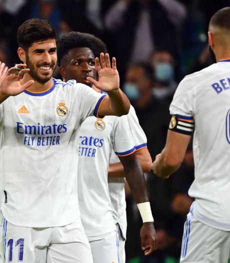Le Real Madrid écrase le promu Majorque, Eden Hazard reste sur le banc