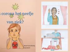 #coronahulp: Shanti schrijft boekje voor kinderen: 'Is corona het neefje van ziek?'