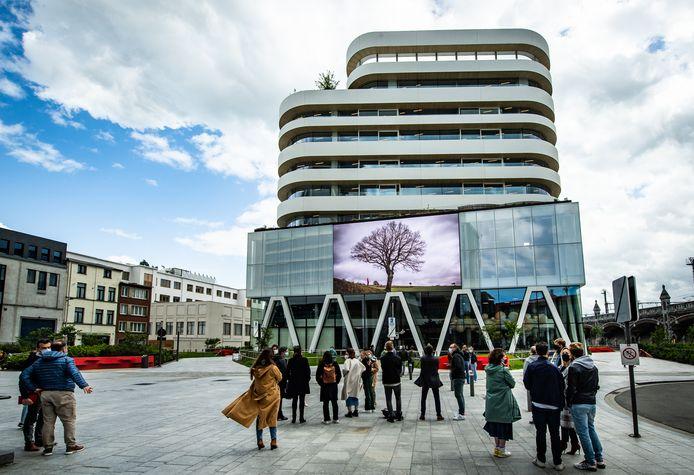 Le siège de DPG Media à Anvers.