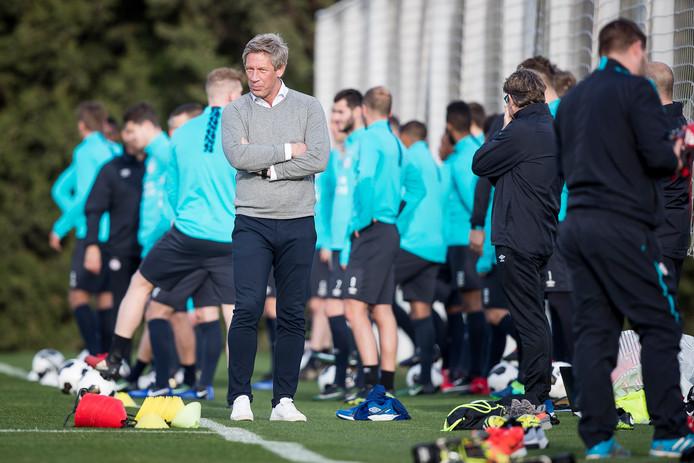 PSV bereidde zich in Zuid-Spanje voor op de tweede seizoenshelft, waarin bij winst op PEC zondag 42 punten zijn gepakt.