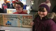 Basisschool De Appelboom schenkt cheques aan De Steiger