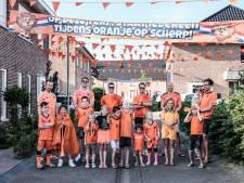 1,5 kilometer aan oranje vlaggen en een versierde auto: het EK voetbal leeft tóch nog een beetje