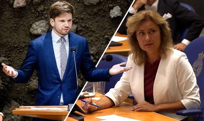 Gideon van Meijeren raakte in de clinch met Kamervoorzitter Vera Bergkamp.