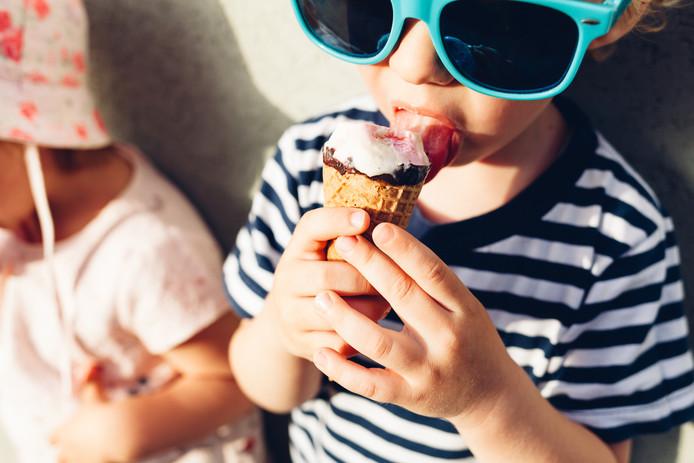 stockadr ijs, ijsje, zomer, warm