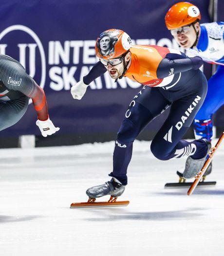 Itzhak de Laat pakt zilver op 1500 meter