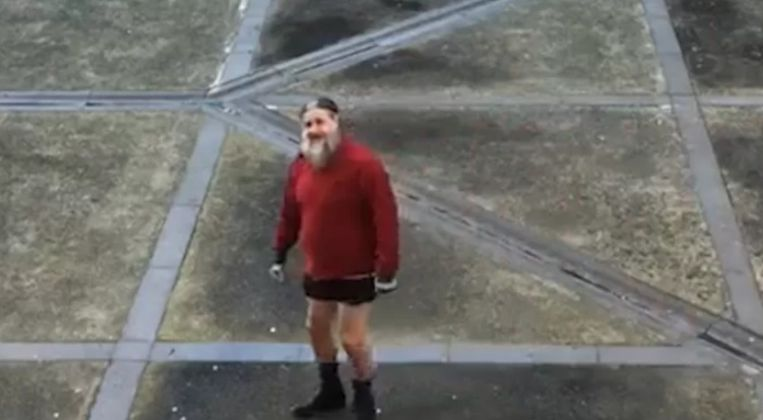 Marc Dutroux in de gevangenis van Nijvel. Beeld Sudpresse