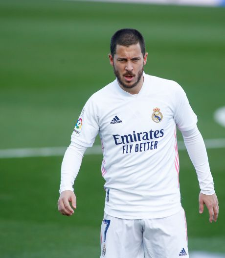 Fausse alerte: Eden Hazard est déjà de retour à l'entraînement avec le Real