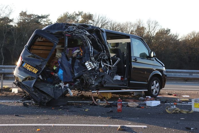 Zwaar ongeval bij Nistelrode.