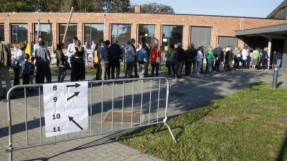 FOTO-ITEM: Bewoners Berlare trekken naar de stembus