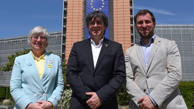 Europees Parlement stemt over opheffing immuniteit Puigdemont en twee medestanders