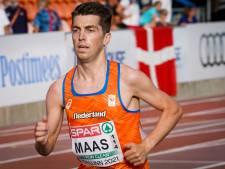 Luuk Maas piekt op EK met vijfde plaats: 'Ik heb nog nooit zo lang moeten bijkomen'