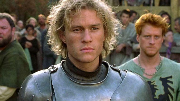 Heath Ledger in A Knight's Tale van Brian Helgeland. Beeld