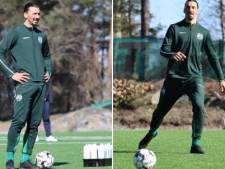 Ibrahimovic s'entraîne avec le club d'Hammarby en Suède
