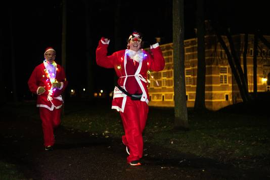 Santa Run in Wijchen.