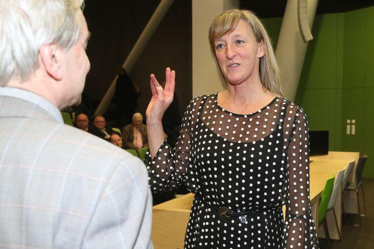Eedaflegging burgemeester Destelbergen Elsie Sierens.