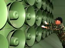 Zuid-Korea zet luidsprekerpropaganda tijdelijk uit voor ontmoeting met Noord-Korea