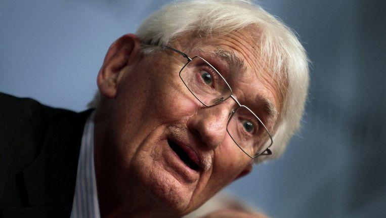 De Duitse filosoof Jürgen Habermas, winnaar van de Kluge Prize. Beeld epa