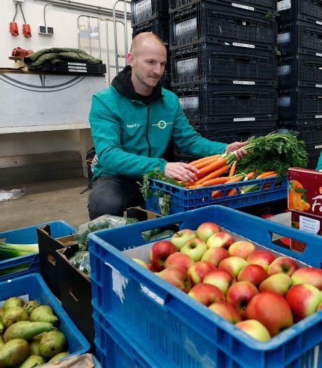 Spontaan ontstane Noaberbox met verse groenten van boeren uit de buurt is een blijvertje